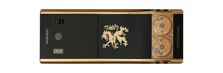 Mobiado Professional 105 GMT Gold