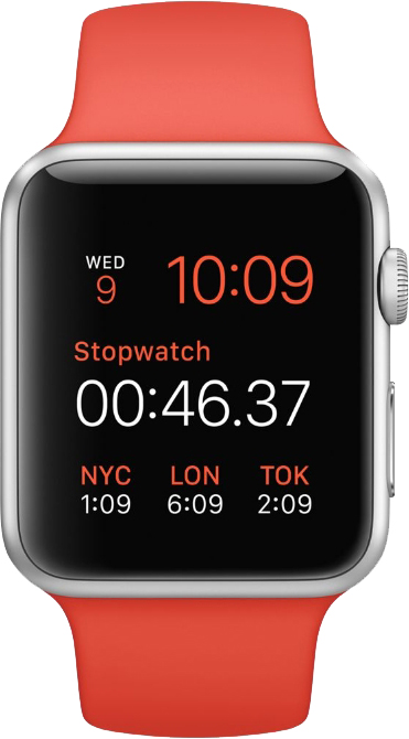Apple Watch Sport 42mm Orange (оранжевый)
