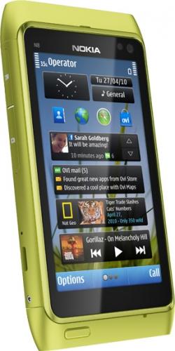 Nokia N8 телефон green