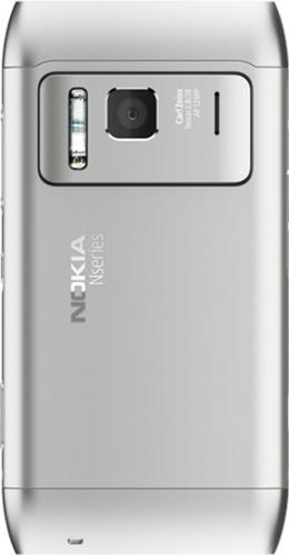 Nokia N8 телефон silver white