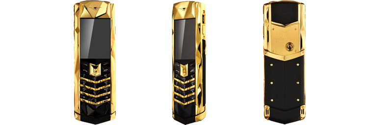 Vertu Signature S Design Boucheron Gold