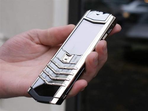 Vertu Signature S Design Platinum