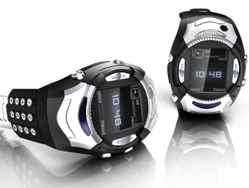 Часы-телефон Handyuhr iWatch V2