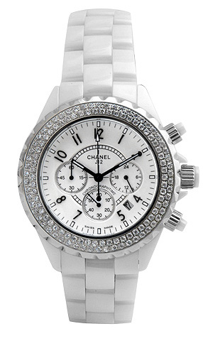 Chanel J12 White Chronograph