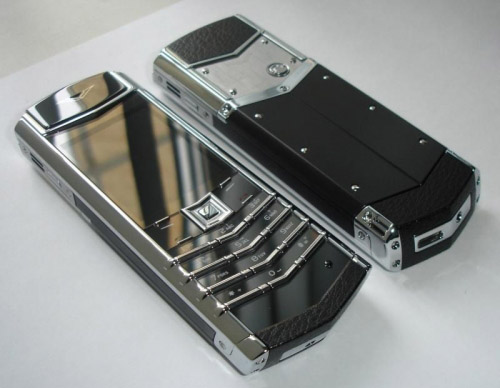 Vertu Signature S Design Platinum Финляндия