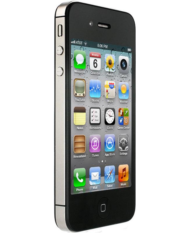 iPhone 4S (MTK 6573) - черный