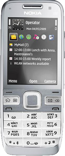 Nokia E-52
