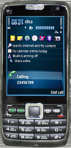 Nokia E71 ++ черный