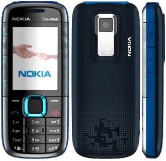 Nokia 5130 - черно-синий
