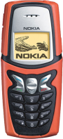Nokia 5210 - красный