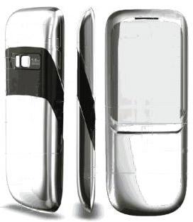 Nokia 8800 Erdos -  серебряный