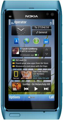 Nokia N8 - синий