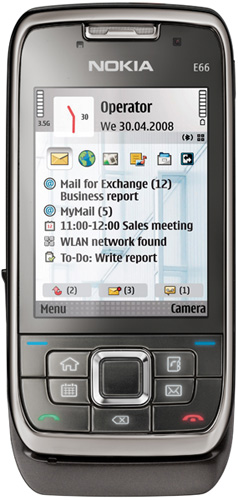 Nokia E66 - черный