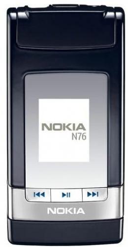 Nokia n76 - черный