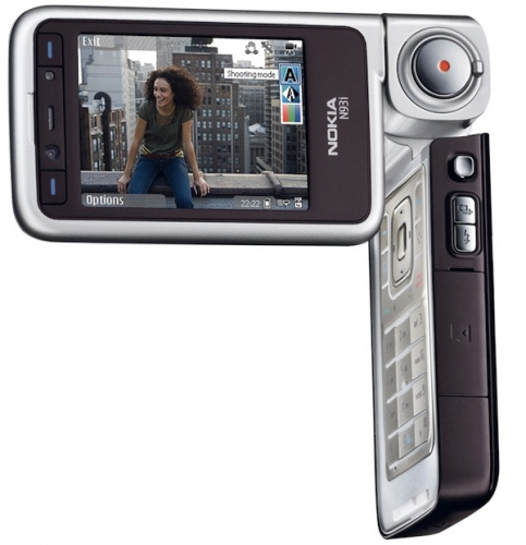 Nokia N93i - серебряный