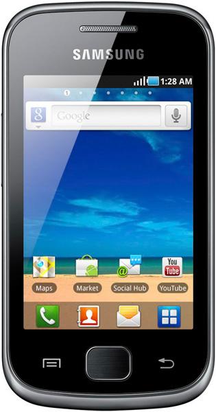 Samsung Galaxy Gio S5660 - черный