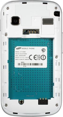 Samsung Galaxy Gio S5660 - белый