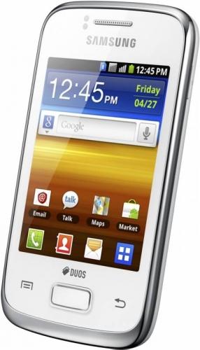 Samsung Galaxy Y Duos S6102 - белый