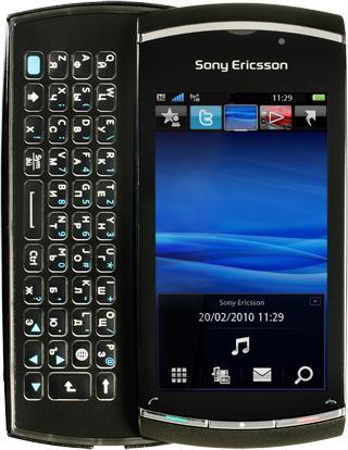 Sony Ericsson Vivaz (U5i) - черный