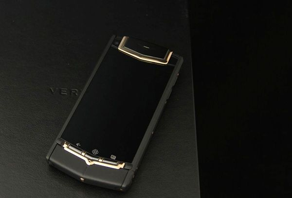Vertu Ti Titanium Black PVD Red Gold Mixed Metals
