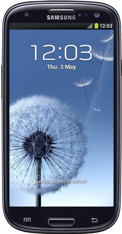Samsung Galaxy SIII - черный