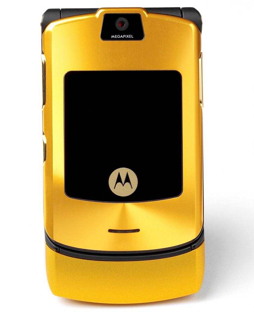 Motorola RAZR V3i золотая