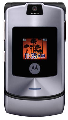 Motorola RAZR V3i серебрянная