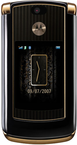 Motorola RAZR V8 Luxury Edition