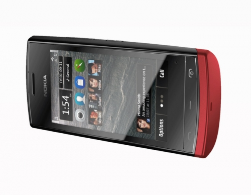 Nokia 500 красная