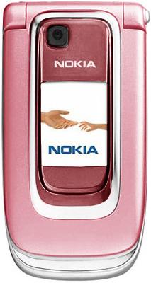 Nokia 6131 розовая