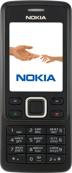 Nokia 6300 черная