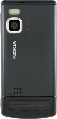 Nokia 6500 Slide черная