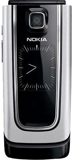 Nokia 6555 серебристая