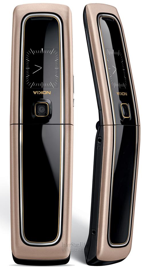 Nokia 6555 черно-золотистая