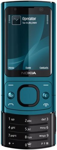 Nokia 6700 Slide синяя