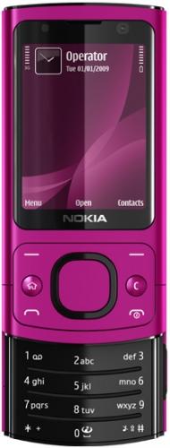 Nokia 6700 Slide розовая