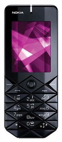Nokia 7500 Prism черно-розовая