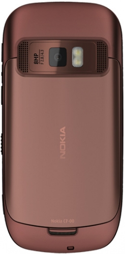 Nokia C7-00 коричневая