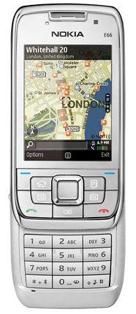 Nokia E66 белая