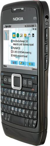 Nokia E71 черная