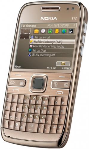 Nokia E72 коричневая