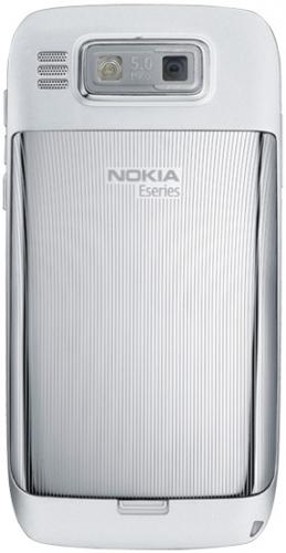 Nokia E72 серебристая