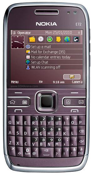 Nokia E72 Violet
