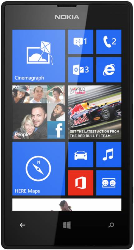 Nokia Lumia 520 черная