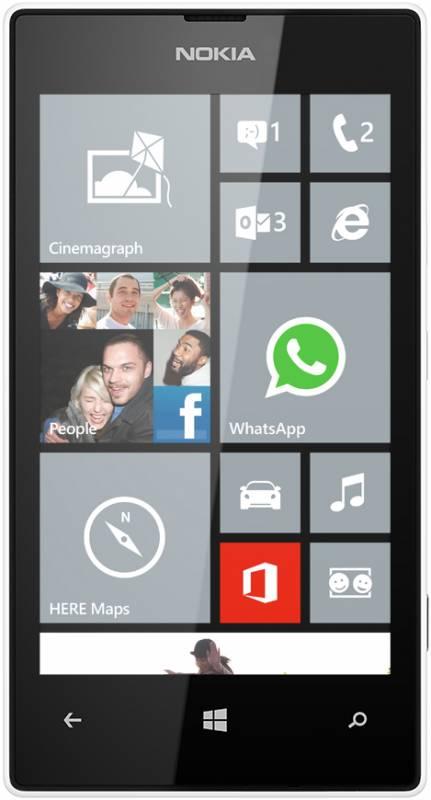 Nokia Lumia 520 белая