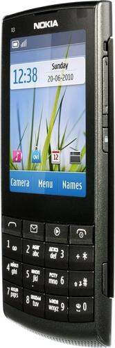 Nokia X3-02 черная
