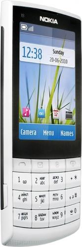 Nokia X3-02 серебристая