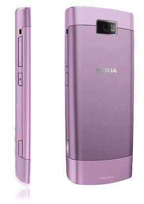 Nokia X3-02 фиолетовая