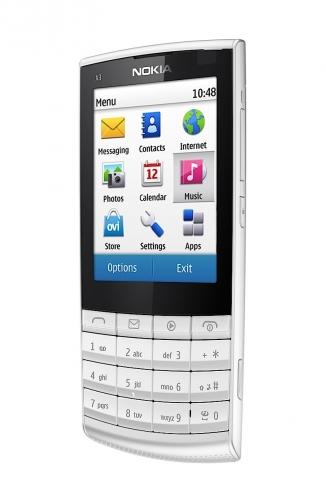 Nokia X3-02 белая