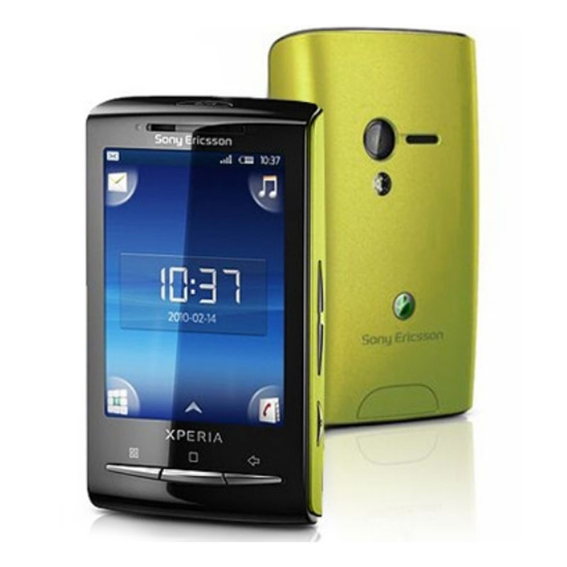Sony Ericsson Xperia X10 mini зеленая